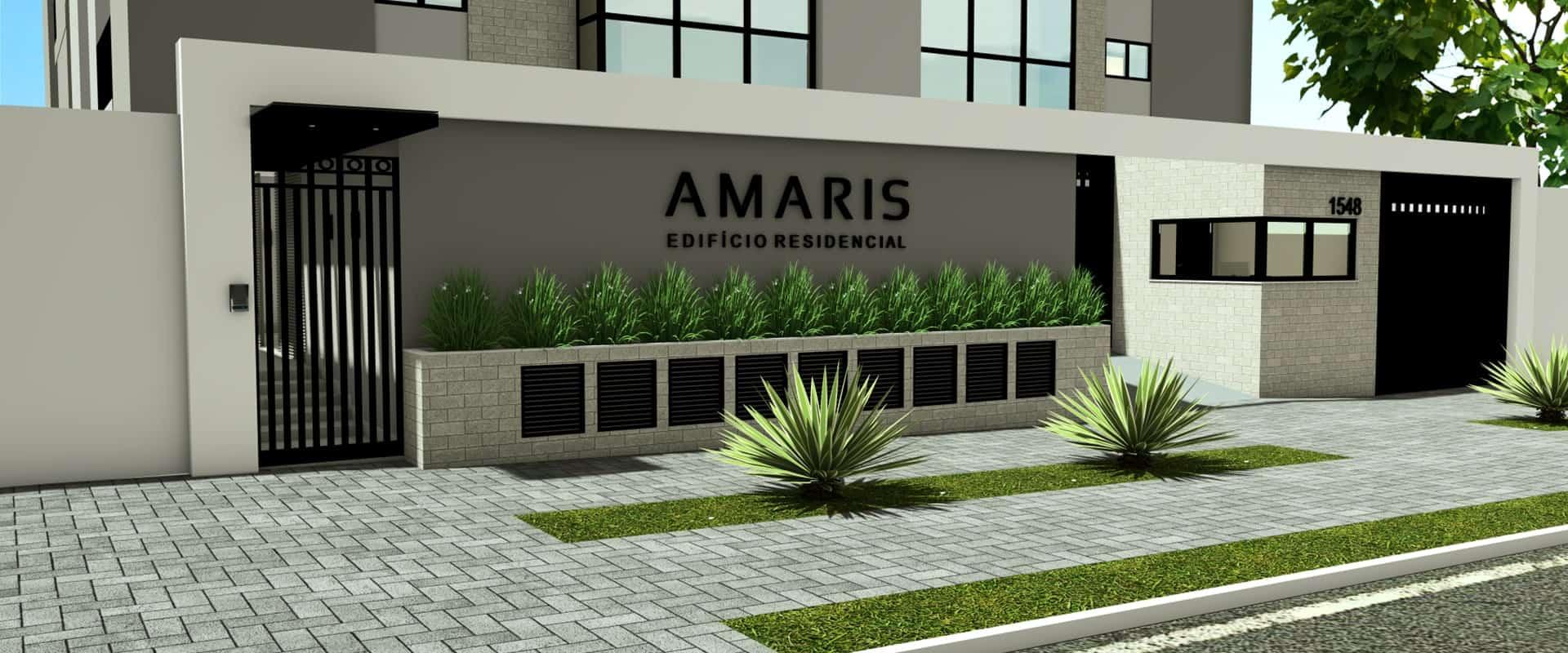 Edificio Amaris Recidencial. Apartamentos de alto padrão na região central de Cacoal
