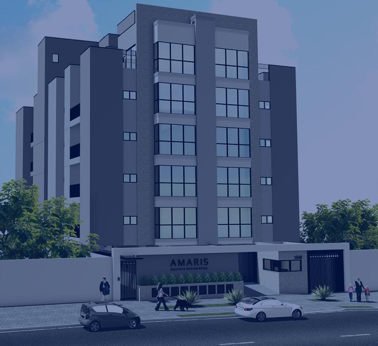 Amaris. Apartamento de alto padrão da Mazzutti Empreendimentos